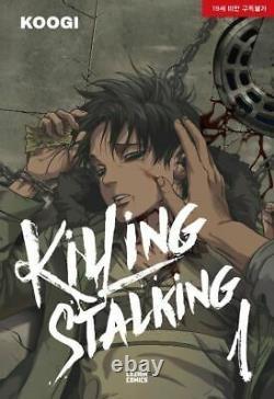 Killing Stalking Vol 18 Lezhin Comics Webtoon Book Korean Cartoon Comics Manhwa