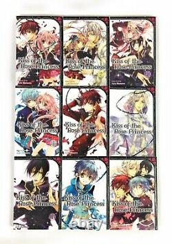 Kiss of the Rose Princess Complete Manga Book Series 1-9 Set Shojo Beat English