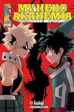 Kohei Horikoshi My Hero Academia Series Vol 1-15, 15 Books Collection Set NEW