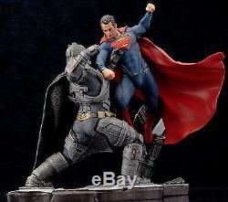 KotoBukiya BATMAN v SUPERMAN DAWN OF JUSTICE MOVIE ARTFX+ STATUE 2 Piecec Set