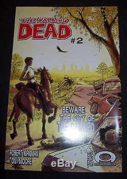 LOT #900 THE WALKING DEAD # 1 FIRST PRINT withcover date OCTOBER 2003 Image Comics