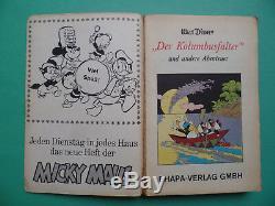 LTB 1 Der Kolumbusfalter Erstauflage 1967 Lustige Taschenbücher