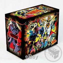 Large Comic Book Hard Storage Box Chest MDF Uncanny X-Men John Byrne
