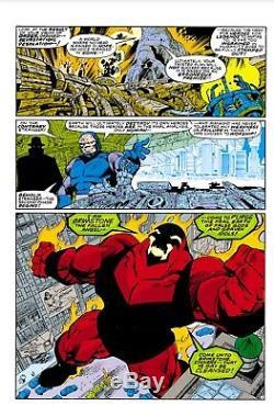 Legends issue 2, page 7 Original comic book art John Byrne, Karl Kesel Darkseid