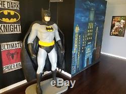 Life size batman statue