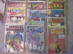 Lot Of 130 Collectible Comic Books, With Slip Covers, Various Characters