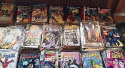 Lot of Approximately 4500 Super Hero Comics, NOS Superman, Batman, Spiderman