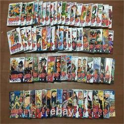 MANGA NARUTO Comic Book Vol. 1-72 lot ALL Complete set Japanese Jump Comics Used