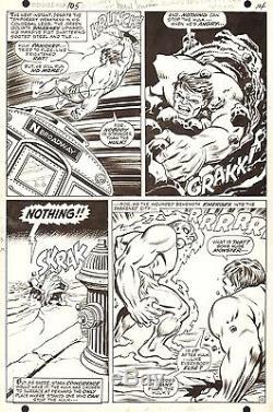 MARIE SEVERIN & TUSKA Incredible HULK #105 Marvel Original Comic SILVER Art 1968