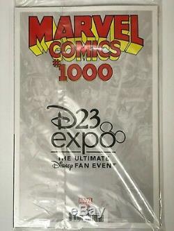 MARVEL COMICS 1000 HUMBERTO RAMOS D23 EXPO 2019 VARIANT 1st MICKEY MOUSE COVER