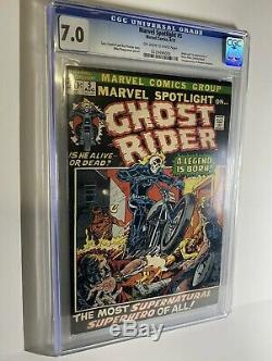 MARVEL SPOTLIGHT #5 (Ghost Rider 1st app. Johnny Blaze) 1972 KEY BOOK
