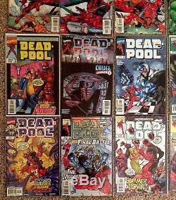 MASSIVE Deadpool Comic Book LOT