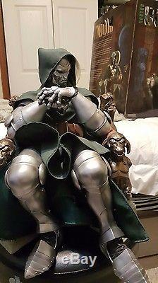 MINT Doctor Doom Sideshow Premium Format Statue Dr Doom LOW Number #53/1000
