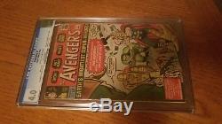 Marvel Avengers #1! Vintage Silver Age Mega Key Comic! (Sept 1963) CGC 4.0