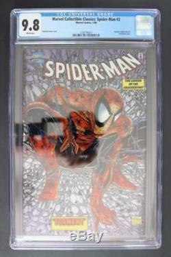 Marvel Collectible Classics Spider-Man #2 -MINT- CGC 9.8 NM/MT Chromium Cover