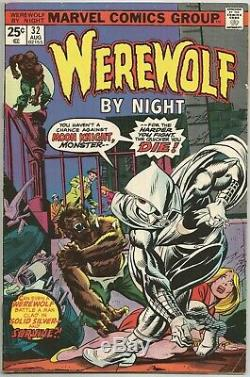 Marvel Comics WEREWOLF BY NIGHT #32 1st Appearance of MOON KNIGHT! GREAT SCAN