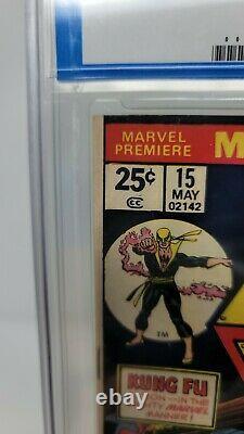 Marvel Premiere #15 CGC 8.0 Marvel Comics 1st Appearance Iron Fist