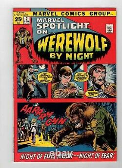 Marvel Spotlight #2 1st Appearance And Origin Of Werewolf By Night Nm