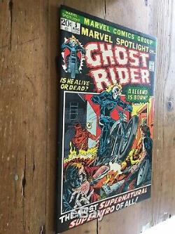Marvel Spotlight #5 CGC 9.0 OWithW pages 1st Ghost Rider! Original Owner Book