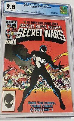 Marvel Super Heroes Secret Wars 8 cgc 9.8 origin alien symbiote -venom HOT