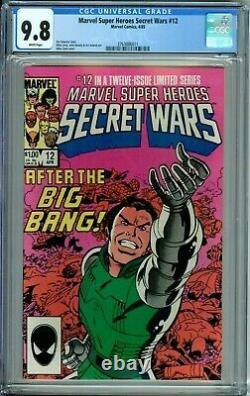 Marvel Super-heroes Secret Wars 1 2 3 4 5 6 7 8 9 10 11 12 #1-12 All Wp Cgc 9.8