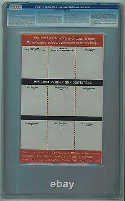 Marvel Value Stamp Book #nn Cgc 9.2 Super Rare One And Only Cgc Copy White Pages