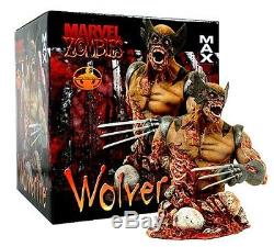 Marvel Zombies Online Exclusive Wolverine Bust limited to 1,000