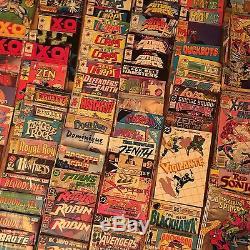 Massive Used Comic Book Lot 650+ Good Condition