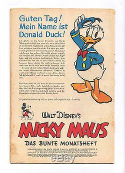 Micky Maus 1951 Nummer 1 das erste Heft! Kein Nachdruck! Ehapa Preis auf Titel