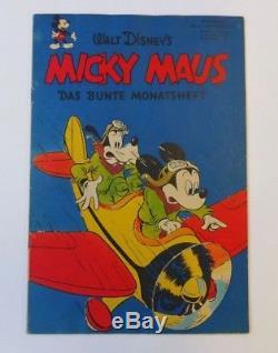 Micky Maus (Ehapa, Gb.) Jahrgang 1951 Nr. 1 Zust. 1-2