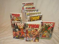 Mighty Thor 126-300 Near Full Run! 134 148 165 166 Him 193 225 Most Books Vf