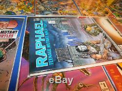 Mirage Comics TEENAGE MUTANT NINJA TURTLES COMPLETE SET # 1-62 +22 Bonus Books