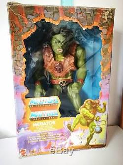 Motu Megator Masters Of The Universe 1986 Mattel Tytus He-man All Original