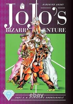 NEW JoJo's Bizarre Adventure Diamond is Unbreakable Manga #1-7 Set Lot JOJONIUM