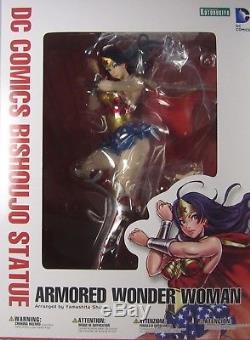 NEW SEAL Kotobukiya DC Comics Bishoujo Statue Collectibles WONDER WOMAN ARMORED