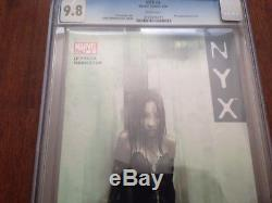 NYX #3 CGC 9.8 1st Appearance of X-23 Laura Kinney Wolvey