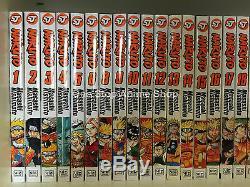 Naruto (Vol. 1 72) English Manga Graphic Novel Set Brand NEW Lot