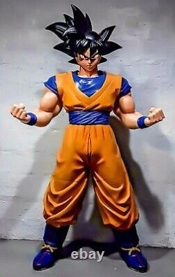 New Life Size Statue Son Goku Dragon Ball Z Super Saiyan Japan Anime