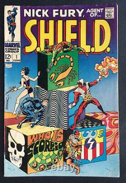 Nick Fury Agent of Shield 1-7, 9-18 Steranko Marvel Silver Age lot of 17 books