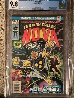 Nova #1 (1976) CGC 9.8 White Pages Origin and 1st appearance of Nova