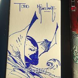 ORIGINAL ARTWORK SKETCH by Todd McFarlane Plus a signed SPAWN KILLS EVERYONE #1