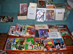 One-Man's Comic Book Collection of 425+ books, sleeved, star wars, superman &