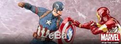 ^PRE-ORDER CAPTAIN AMERICA & IRON MAN Civil War ARTFX+ Statues Marvel Kotobukiya