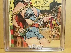 Phantom Lady #17 Cgc. 5 Classic Matt Baker Cover & Art Gga 1948 Fox