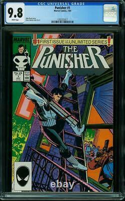 Punisher Limited #1 CGC 9.8 & Regular #1 CGC 9.8 Both books! 1986 K10 214 117 cm