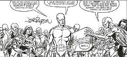 RARE! JOHN BYRNE SILVER SURFER ONE-SHOT Original Comic Art 1982