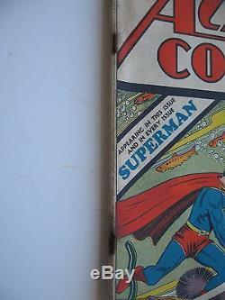 Rare Action Comics Detective Comics No. 15 1939 Golden Age Superman No Reserve