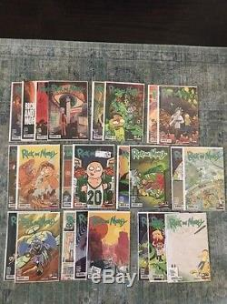Rick And Morty Issues #1-28 All Variants + Lil Poopy Superstar Mini Series