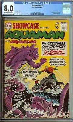 SHOWCASE #30 CGC 8.0 OWithWH PAGES
