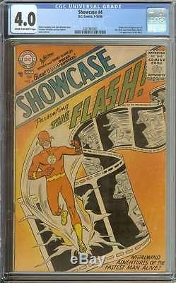 Showcase #4 Cgc 4.0 Cr/ow Pages